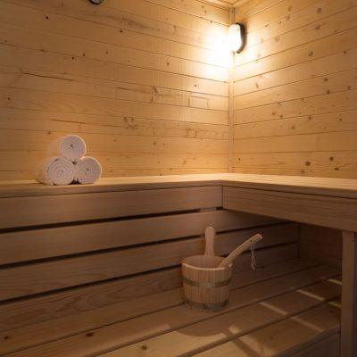 Sauna uscata, disponibila pentru oaspetii Hanului Vatra